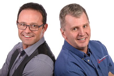 Marc Hannah and Allen Violini of Ottawa Home Services
