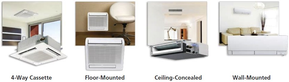 Mitsubishi Ductless Air Conditioner contemporary ductless air conditioner installation in design