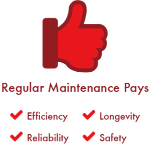 Regular maintenance pays off