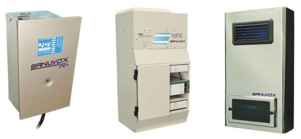 Sanuvox air purifiers